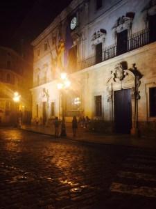 Rathaus am Placa de Cort