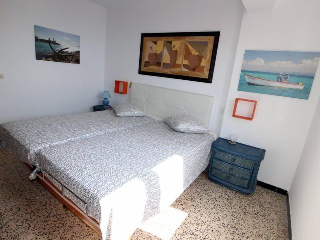 Ferienwohnung-S'arenal-Schlafzimmer