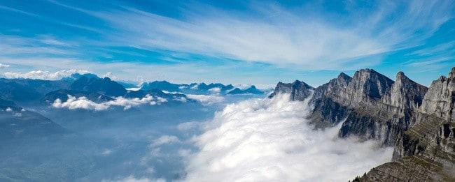 Schweizer Alpen - Schweiz