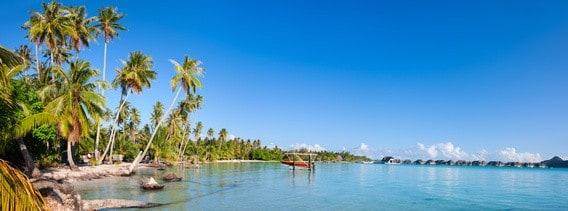 Bora Bora - Die 10 schönsten Inseln der Welt