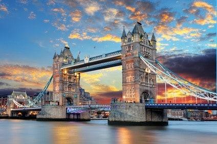 Tower Bridge in London - Reisetipp England