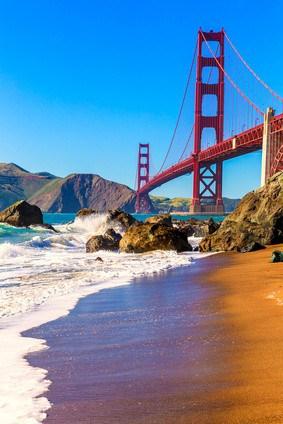 Golden Gate Brücke - San Fransisco