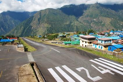Lukla Airport (LUA), Nepal - Die 10 gefährlichsten Flughäfen der Welt
