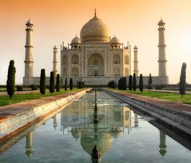 Taj Mahal - Die 10 beliebtesten Sehenswürdigkeiten in Indien
