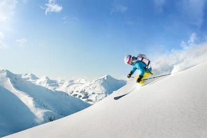 Skiurlaub - skifahren Kanada