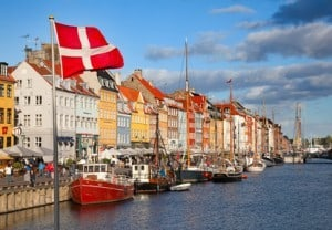Hafen an der Ostsee - Dänemark
