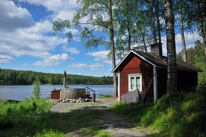 Sauna - Finnland Urlaub