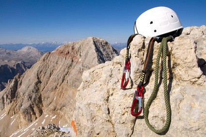 Kletterausrüstung Klettersteig : Klettersteig zugspitze gipfelsturm auf deutschlands höchsten