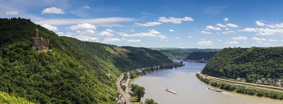 Rhein - Die 10 längsten Flüsse Deutschlands
