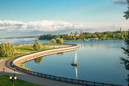 Wolga - Die zehn längsten Flüsse Europas