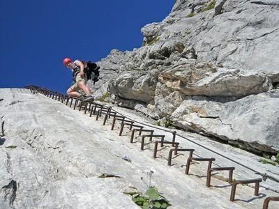 Klettersteig Zugspitze Stopselzieher : Zugspitze über stopselzieher bergtour klettersteig bilder