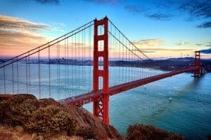 Golden Gate Bridge - Die Top 10 Sehenswürdigkeiten der USA