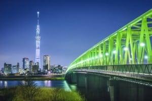 Skytree Tower in Tokio - Die 10 höchsten Fernsehtürme der Welt