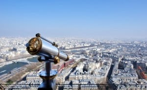 Blick ber Paris