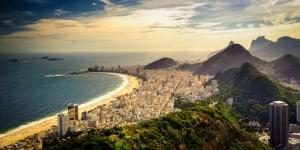 Copacabana Beach - Die 10 wichtigsten Sehenswürdigkeiten in Brasilien