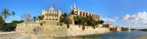 Kathedrale La Seu, Palma, Mallorca