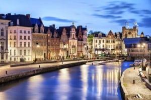 Stadt Gent in Belgien