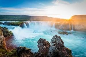 Godafoss Wasserfall - Island