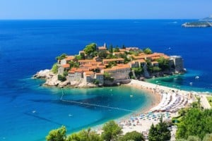 Insel Sveti Stefan - Montenegro