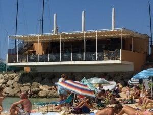 schicke Restaurant Beach Alm