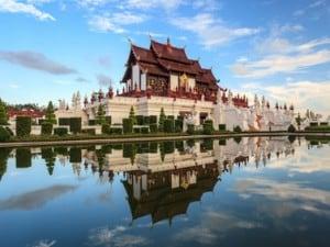 Temple in Chiangmai, Thailand