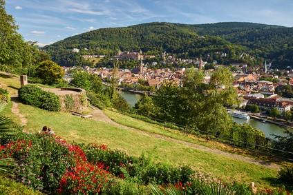 Heidelberg-landschaft
