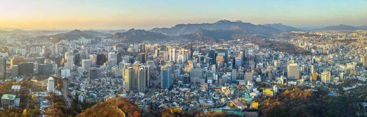 Korea-Landschaft