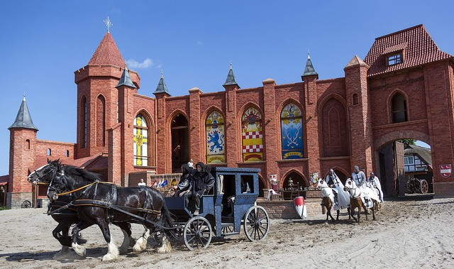 Störtebeker-Festspiele-Pferde