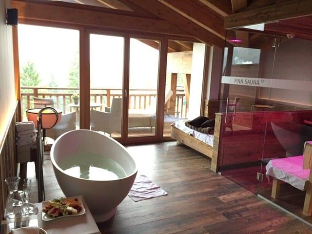 Reisetipp Hotel Seefeld Privatespa