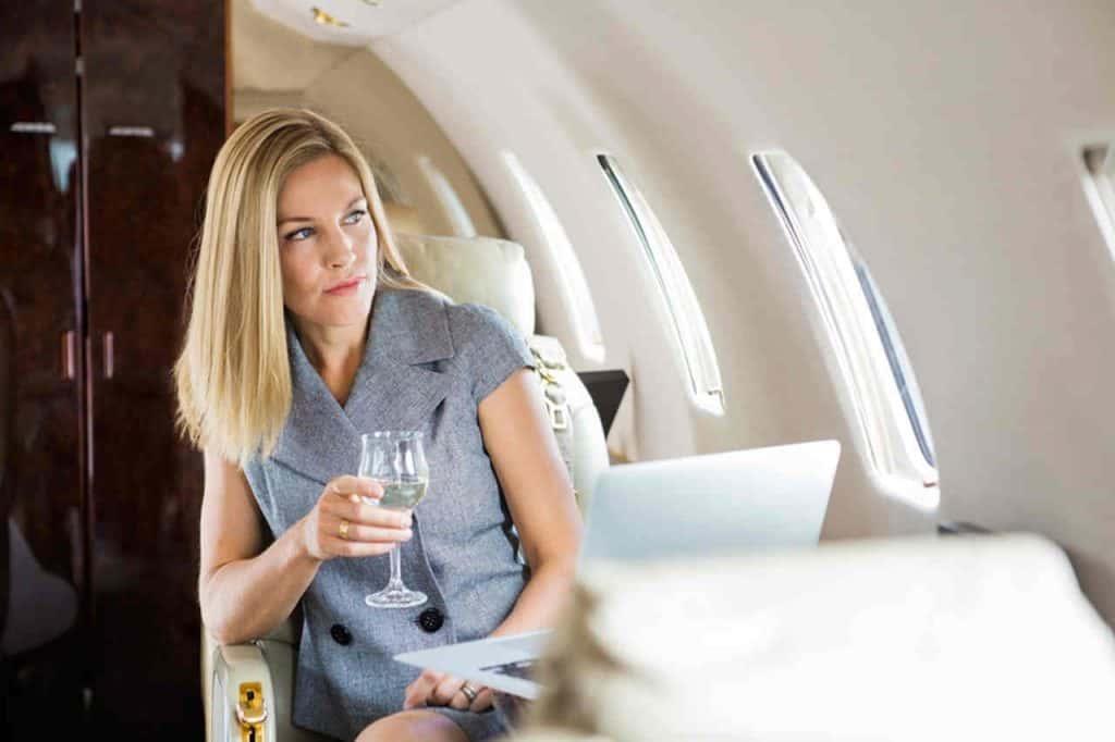 Verbot von Alkohol in Flugzeugen und Flughäfen Mallorca