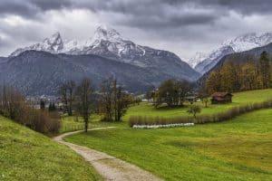 Bayerische Alpen Wanderparadies Watzmann