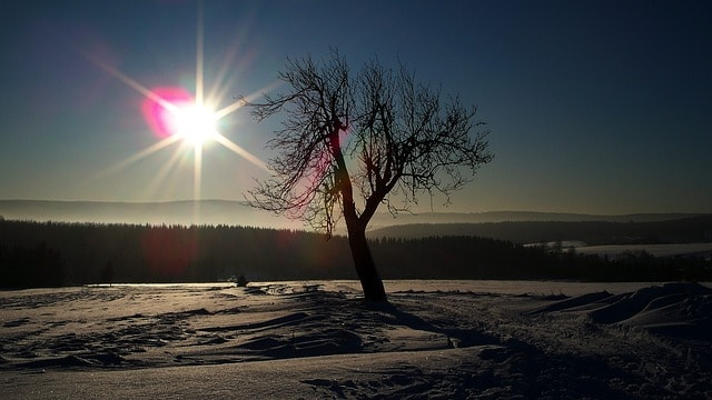 Erzgebirge Winter