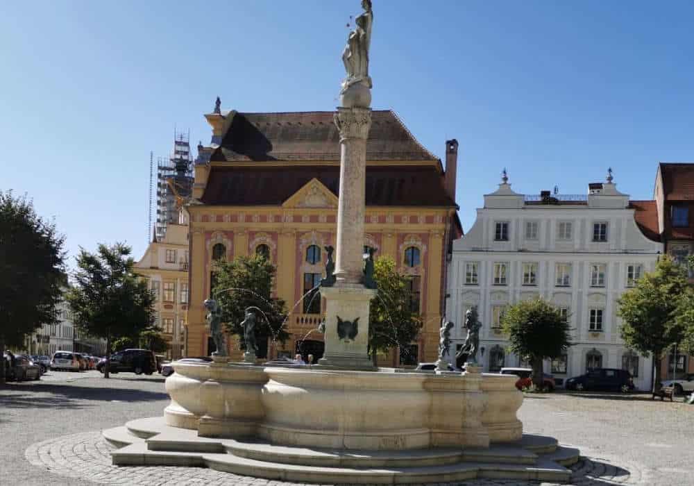 Karlsplatz Neuburg an der Donau