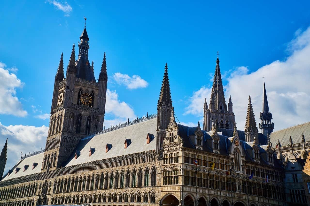 Belgien Ypern Zimmerturm