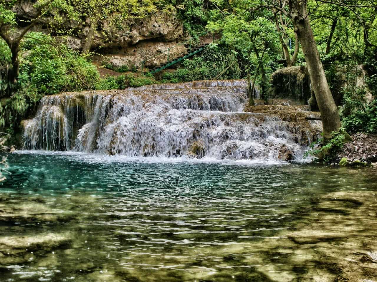 Bulgarien Krushuna Wasserfall