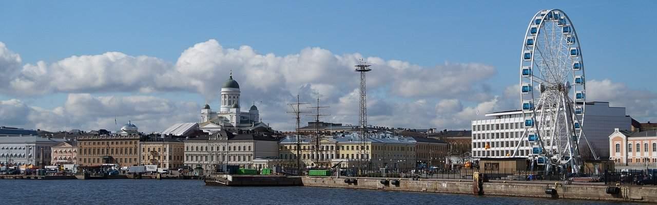 Finnland Stadt Helsinki