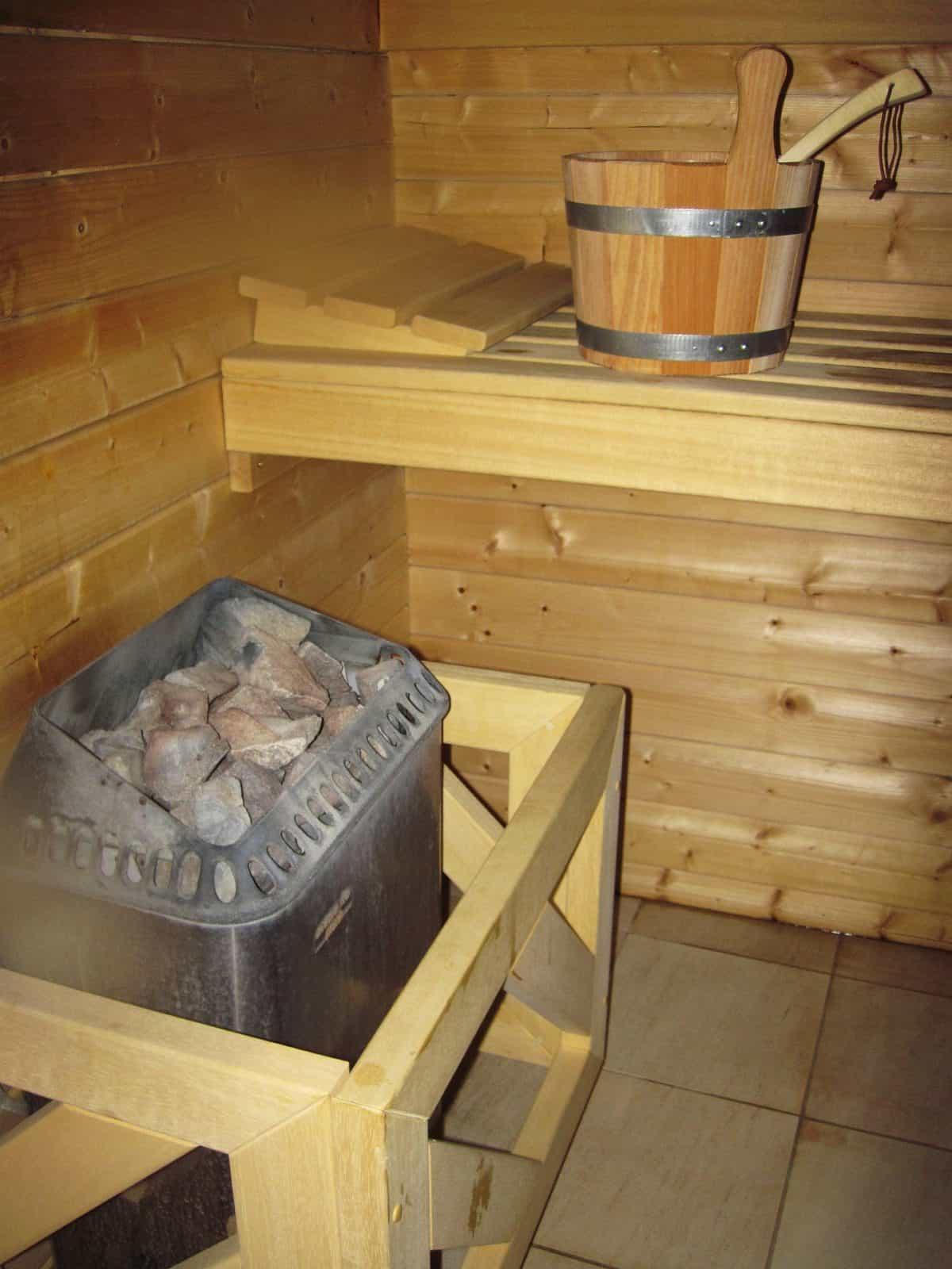 Aufguss Saunabesuch