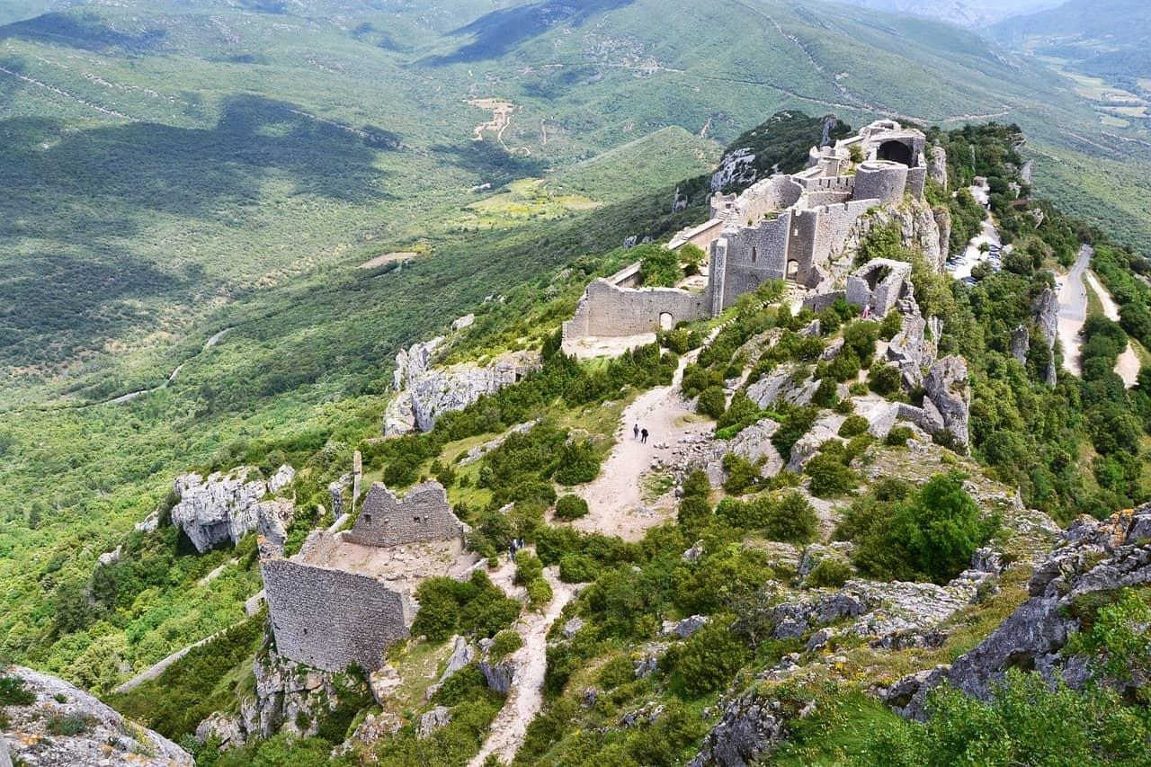 Frankreich Burgen Katharern