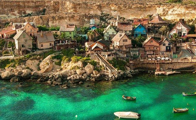 Malta popeye-village