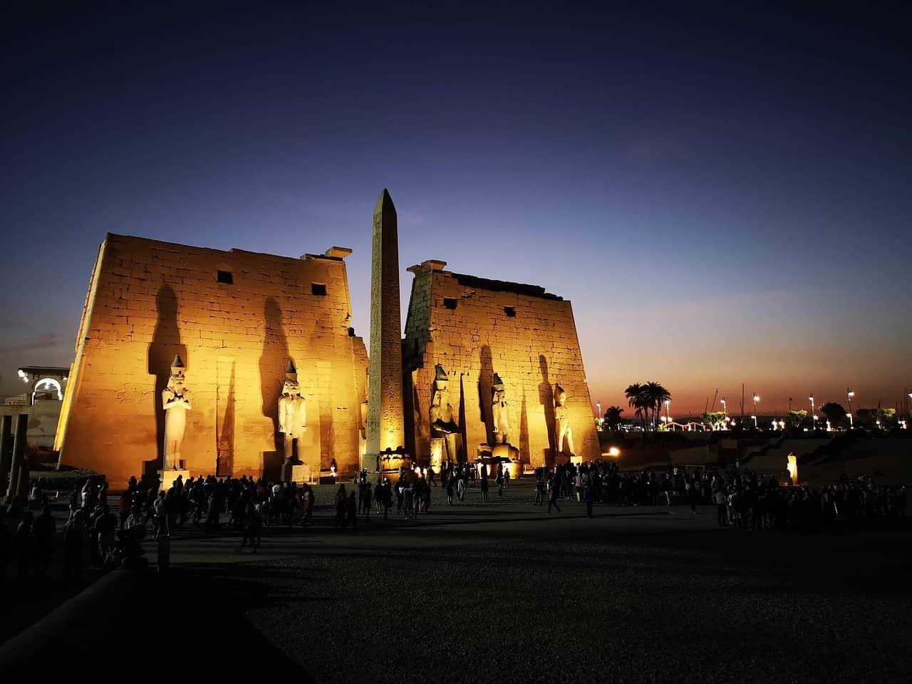 Ägypten _ Luxor Tempel