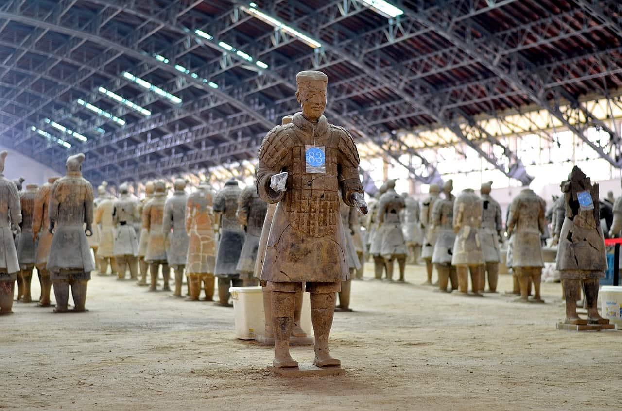 China-Xi'an-Terrakottakrieger