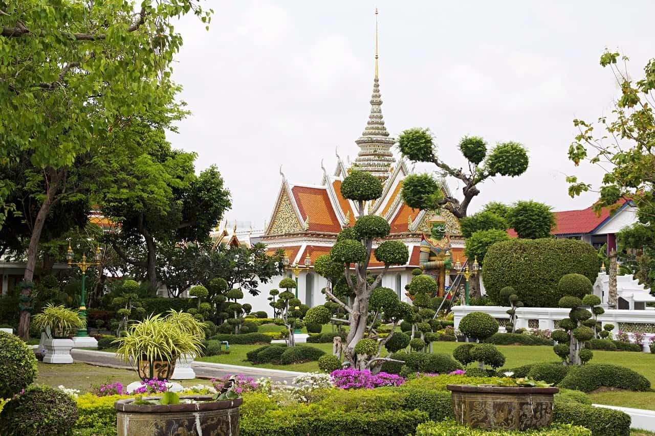 Die 10 besten Reiseziele von Thailand-Bankog-Wat Arun-Tempelanlage