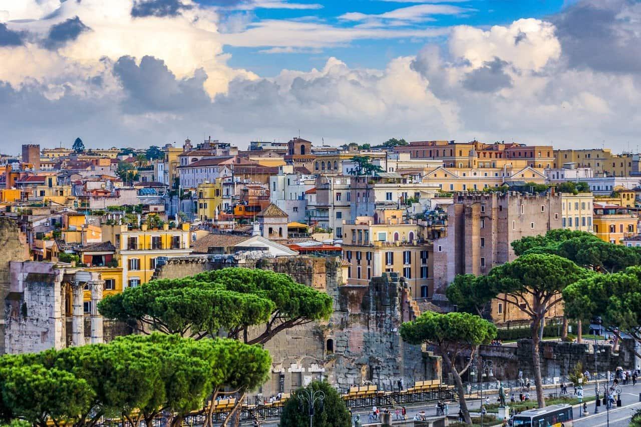 Die 10 größten Städte in Europa-Rom