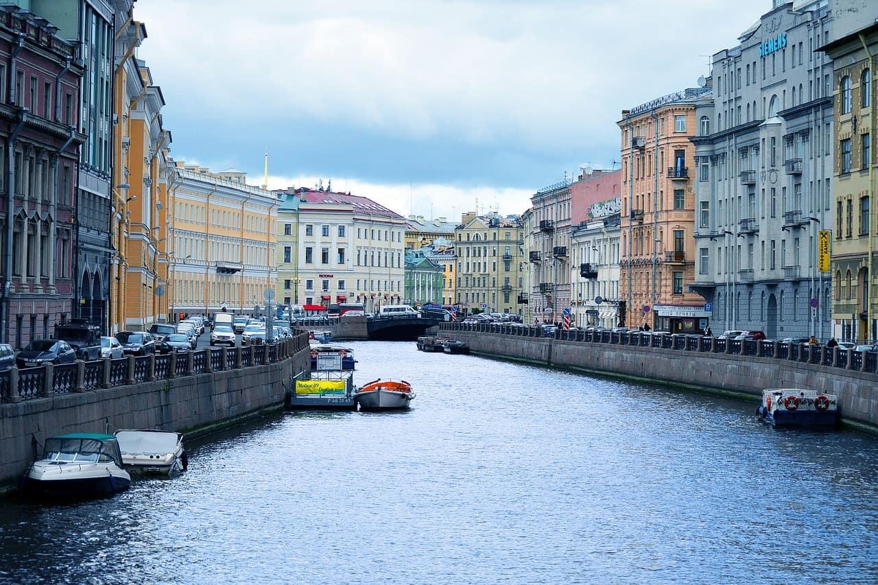 Die 10 größten Städte in Europa-Sankt Petersburg