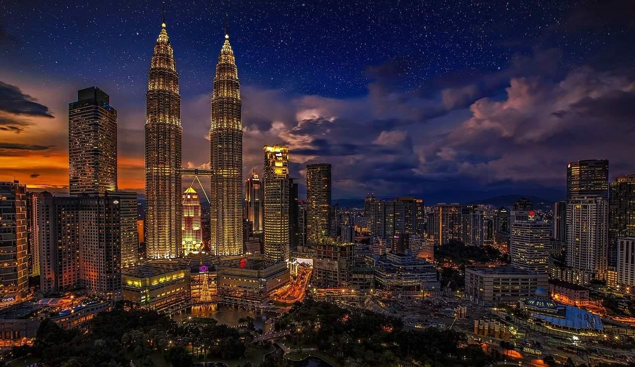 Die höchsten Gebäude der welt_Petronas Towers in Kuala Lumpur in Malaysia