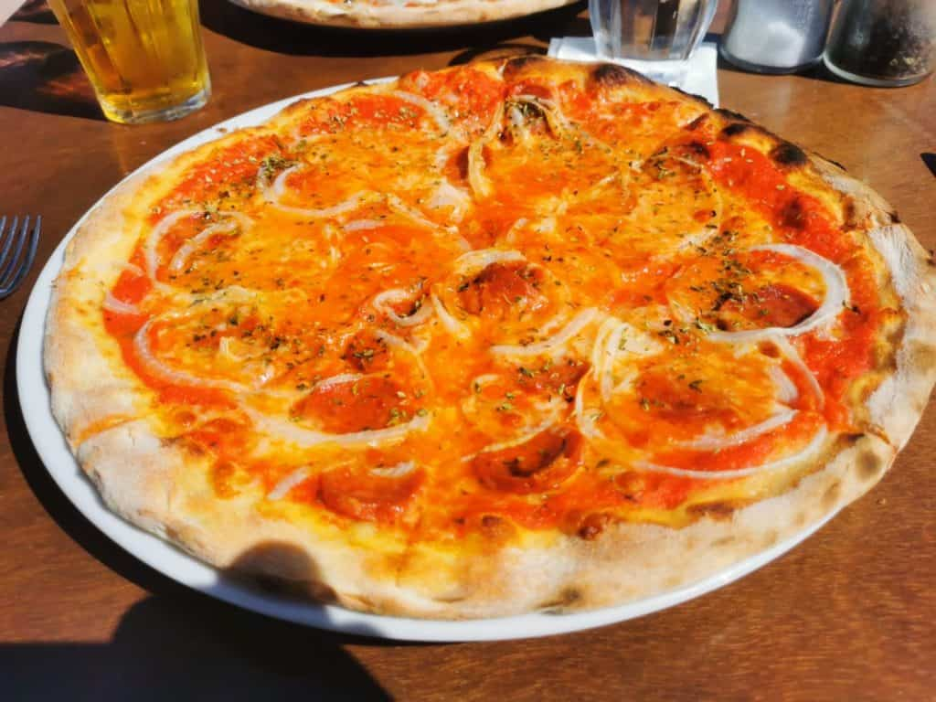 Restaurant Es vivers Colonia de sant pere Pizza