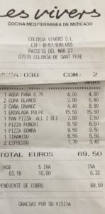 Restaurant Es Vivers