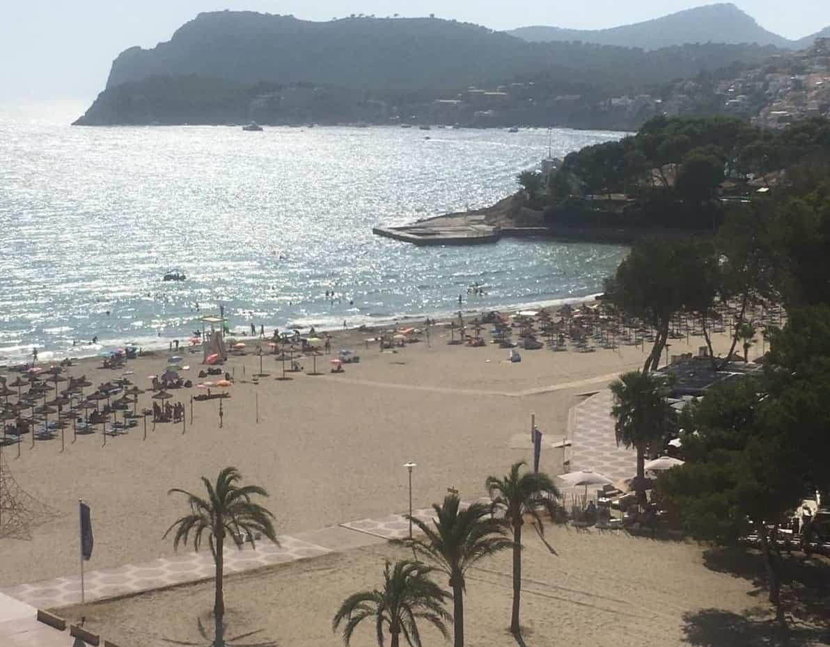 Paguera Beach Aussicht