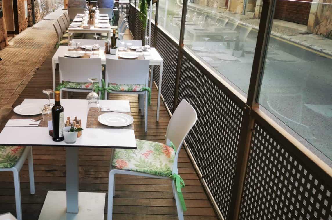 Pollenca Innenstadt Mallorca _ Restaurant Respira
