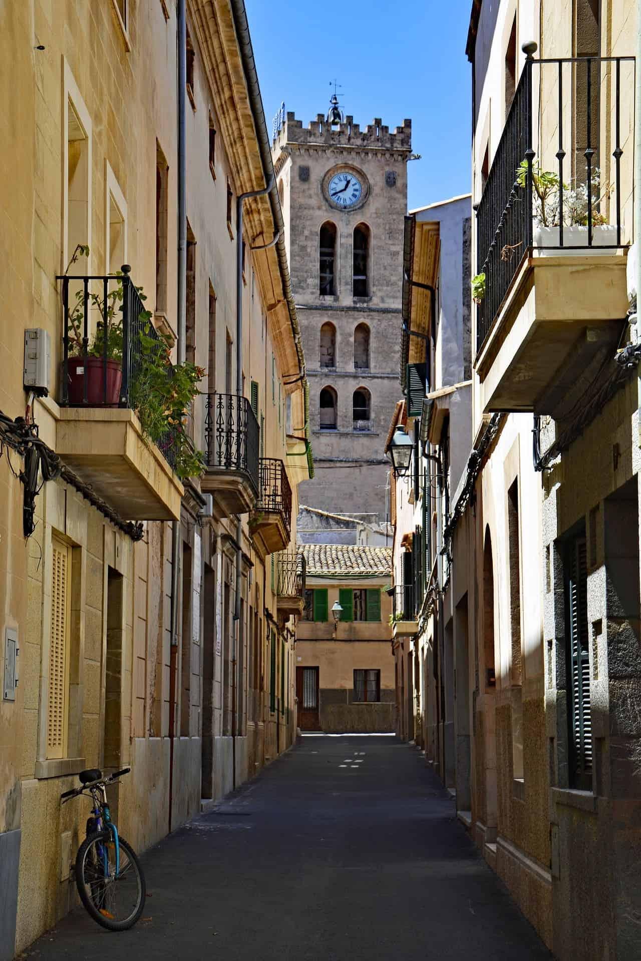 Pollenca Innenstadt Mallorca